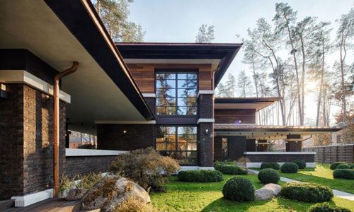Отличительные особенности западных каркасных домов